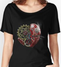 Mecha Heart Women's Relaxed Fit T-Shirt
