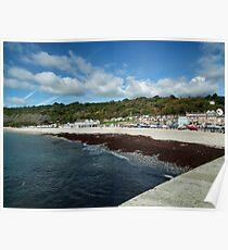 Monmouth Beach  Lyme Regis Poster