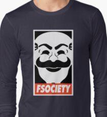 MR ROBOT New Merchandise Long Sleeve T-Shirt