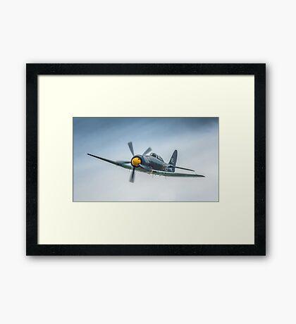 Two Seat Sea Fury 2014 Framed Print