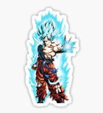 Son Goku Super Saiyan Blue Sticker