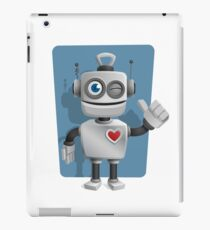Cute Cartoon Robot iPad Case/Skin