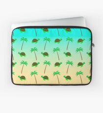 Sea turtles & palms Laptop Sleeve