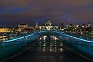 Pre dawn at St Pauls Cathedral London England by Cliff Williams