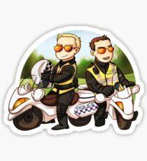 Motor cops Sticker
