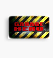 Garage Hero Canvas Print