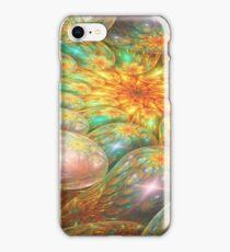 Swirling oil spill iPhone Case/Skin