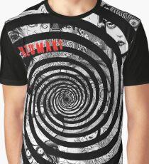Junji Itos Uzumaki Grafik T-Shirt