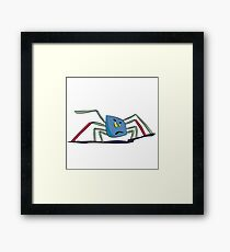Kleine Spinne Framed Print