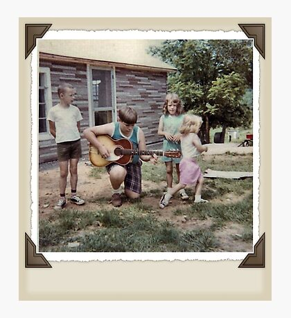 """THE MAMAS & THE PAPAS: BEFORE THEY WERE MAMAS & PAPAS""... prints and products Photographic Print"