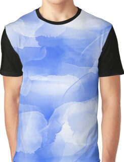 Blue Blue Cloud Graphic T-Shirt