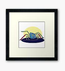 Kleine Spinne 2 Framed Print