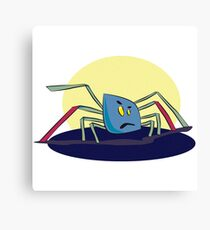 Kleine Spinne 2 Canvas Print