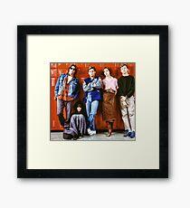 Breakfast Club Framed Print