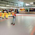Roller Derby by Susan Littlefield