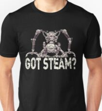 Steampunk / Cyberpunk Robot 'Got Steam?' Steampunk T-Shirts Unisex T-Shirt