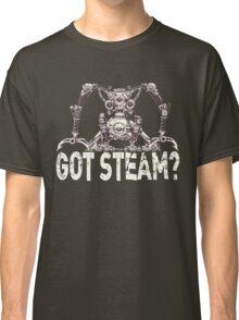 Steampunk / Cyberpunk Robot 'Got Steam?' Classic T-Shirt