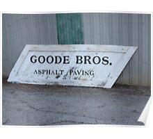 Goode Bros. Poster