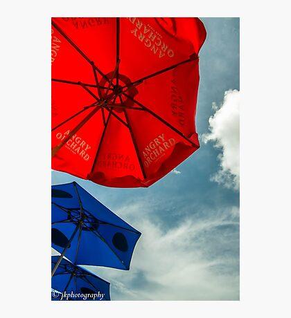 """Sunbrellas"" Photographic Print"