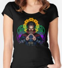Strange and Trippy... Women's Fitted Scoop T-Shirt