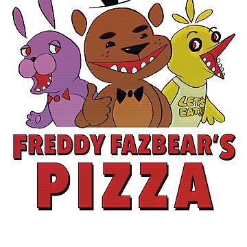 Freddy Fazbear's Pizza Employee by vainglory