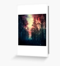 Magical Forest II Greeting Card