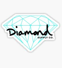 Diamond black Sticker
