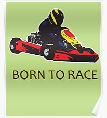Born to Race - Kart Racing Poster