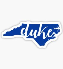 Duke NC Sticker