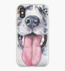 Australian Shepherd Kunstmalerei iPhone-Hülle & Cover