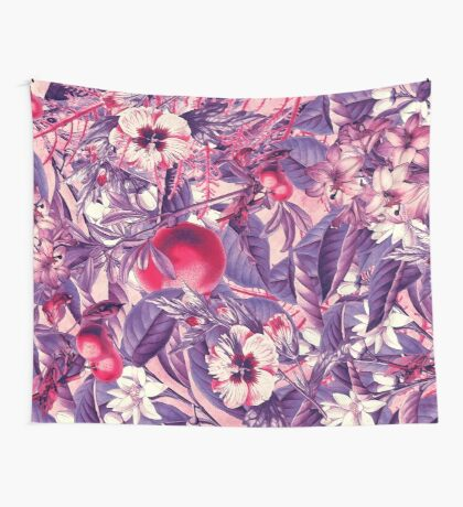 flowers 9 Wall Tapestry
