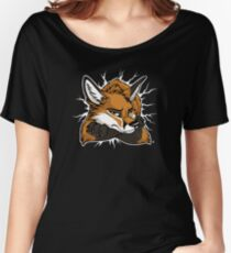 STUCK - Red Fox / Fuchs (dark backgrounds) Women's Relaxed Fit T-Shirt