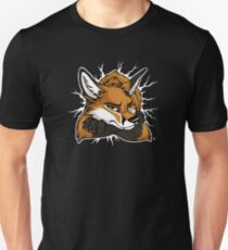 STUCK - Red Fox / Fuchs (dark backgrounds) Unisex T-Shirt