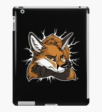 STUCK - Red Fox / Fuchs (dark backgrounds) iPad Case/Skin
