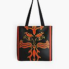 Fire Tote Bag by Shulie1