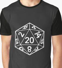 D&D 20 Graphic T-Shirt