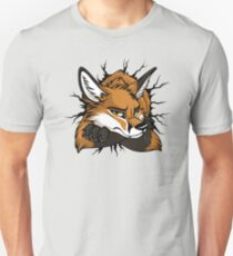 STUCK - Red Fox / Fuchs (bright backgrounds) Unisex T-Shirt
