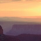 Canyon Sunrise Panorama by Roupen  Baker