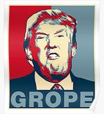 Trump Grope Poster Poster