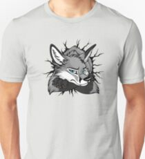 STUCK - Grey Fox / Fuchs (bright backgrounds) T-Shirt