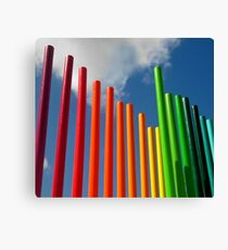 Colored Pencils Canvas Print
