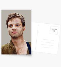 Kapitän Amerika: der erste Rächer (2011) Bucky Barnes Postkarten
