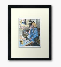 Facing the Day Framed Print