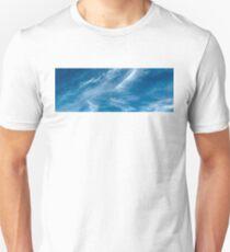 Blue Sky White Cloud.  T-Shirt