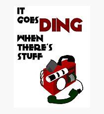 Timey Wimey Detector Photographic Print