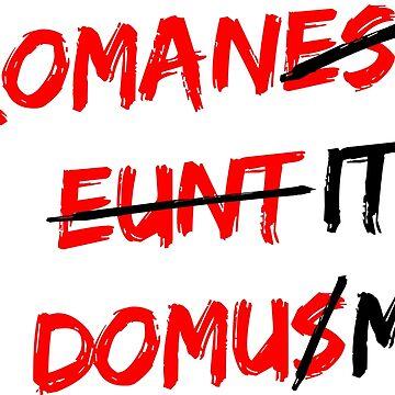 Romanes eunt domus von dynamitfrosch