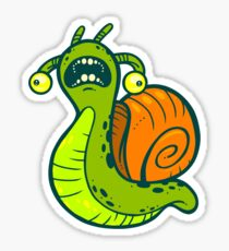 Tauntaun Snail Sticker