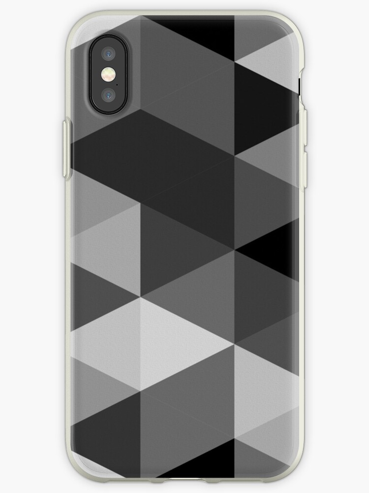 Grey scale triangle pattern by siyi