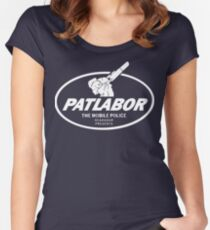 Patlabor (white) Women's Fitted Scoop T-Shirt