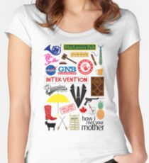 How I Met Your Mother Women's Fitted Scoop T-Shirt